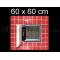 ZAVRZ, š/v 60x60 cm, protipožiarne revízne dvierka, certifikát odolnosti EI130 EI230 EW30