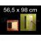 ZAVRZ Revízne dvierka š x v 56,5x98 cm