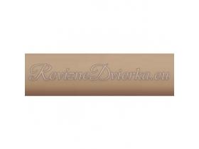BAHAMA ukončovacia lišta, hranatý L profil PVC, pre obklad 8 mm