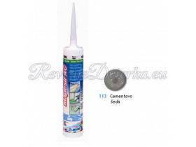 Mapei MAPESIL AC 113 silikónový tmel, protiplesňový, 310 ml, cementovo šedá