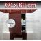 ZAVRZ Revízne dvierka š x v 60x60 cm s PUSH systémom