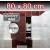 ZAVRZ Revízne dvierka š x v 80x80 cm s PUSH systémom, Kovový rám, ĽAVÉ