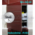 ZAVRZ Revízne dvierka š x v 60x60 cm-PUSH-Vodeodolné, na doske GlassRock, Ľavé